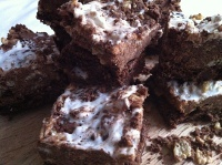 crunchy top brownies