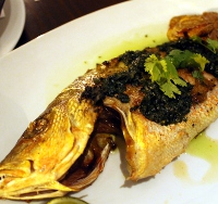 trade whole roasted fish