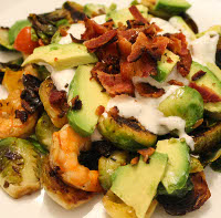 smoky brussels sprouts salad
