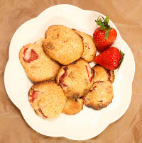 strawberry shortcake cookies